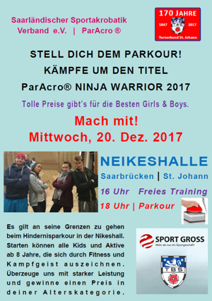 ParAcro® Ninja Warrior 2017
